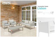 Vremea nu ne împiedică să stăm pe terasă. Este momentul să ne bucurăm de aer curat și miros de iasomie.    Vă prezentăm colecția Lisbon  Culorile calde și stilul modern definesc cel mai bine colecția Lisbon. Structura elementelor de mobilier este realizată din aluminium, nu cedează ușor la intemperii și rugină.