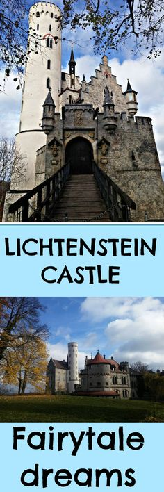 #Lichtenstein Castle in Germany is another of the #fairytale type castle's you will find across #Europe