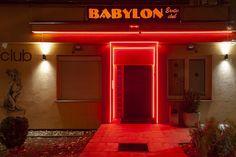 Babylon Night Club Babylon night club, Starohájska 3, Bratislava Entry Babylon Club, Bratislava, Night Club, Neon Signs, Mood, Home Decor, Decoration Home, Room Decor, Home Interior Design