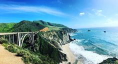 I almost mistook this one for Bixby. #rockycreekbridge #bigsur #monterey #california #bixbybridge #notbixbybridge #throwbacktuesday #montereybay #beach #cliffs #weekendgetaway #17miledrive #pacificcoast #pacificgrove #ca1highway #calocals - posted by Ruthra https://www.instagram.com/ruthrapathy - See more of Big Sur, CA at http://bigsurlocals.com