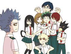 Boku no Hero Academia || Class 1-A, Hitoshi Shinsou || Izuku x Everyone