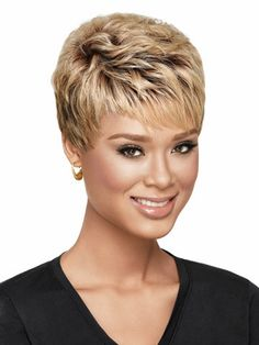 NOW by LuxHair Textured Pixie Heat Friendly Synthetic Wig • NOW by LuxHair   $68.95