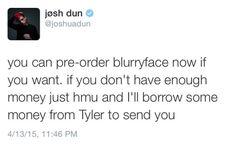 josh dun on twitter