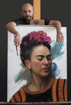 Painting by Omar Ortiz.