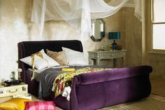 Bohemian Boudoir - Bedroom Design Ideas & Pictures – Decorating Ideas (houseandgarden.co.uk)