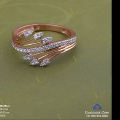 Gold Rings Jewelry, Jewelry Sets, Bridal Jewelry, Diamond Jewelry, Jewelery, Jewelry Accessories, Jewelry Design, Simple Ring Design, Beautiful Diamond Rings