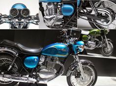 Kawasaki Estrella 250 - .A classic retro motorcycle with new technology