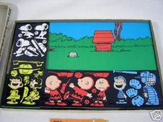 colorforms + snoopy = 70s perfection