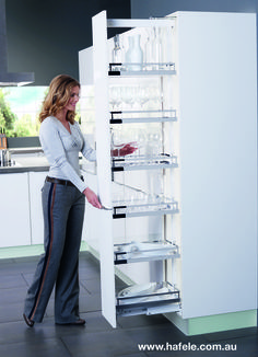 Superbe HAFELE Storage Solution Providing A Lot Of Storage With A Very Small  Footprint. The Entire