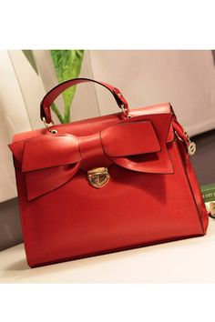 2012 New In Bowknot Detail Clasp Closure Briefcase