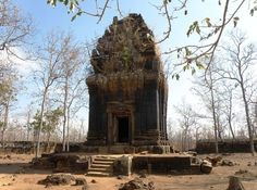 Koh Ker is the former capital of the Khmer Empire