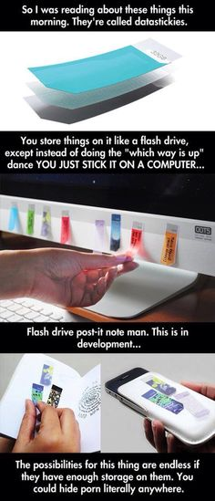 Datastickies: Paper USB flash drive