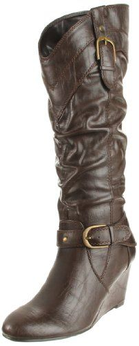 Madeline Women's Braylon Boot,Dark brown,8.5 M US