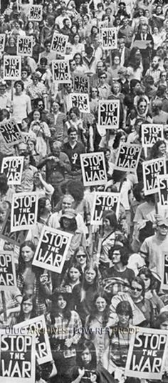 Silent March in Protest of the Vietnam War | University of Illinois Archives