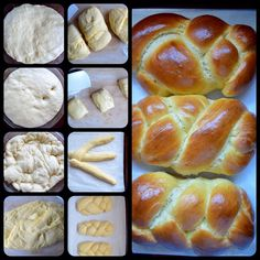 Lina's Italian Easter Sweet Bread- simple, light and flavored with a hint of orange. Would you believe mashed potatoes are one of the ingredients?