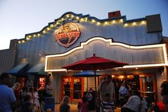 Bubba Gump Anaheim - Probably dinner at some point