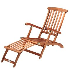 Deuba Garden lounger wooden lounger folding recliner Queen-Mary longchair tropical acacia wood deck chair sunbed sun loungers garden furniture: Amazon.co.uk: Garden & Outdoors
