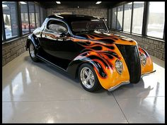 1937 Ford 3 Window Coupe Street Rod 350 CI, Air Conditioning