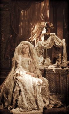 "Helena Bonham Carter as Miss Havisham from ""Great Expectations""..is there anybody else who can embody this role?"