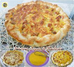 Torta salata alle patate salsiccia e mozzarella  Blog Profumi Sapori & Fantasia