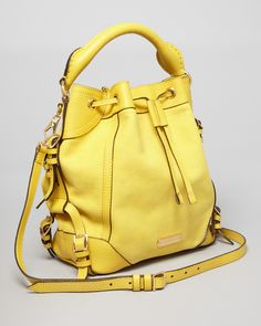 ~~Burberry Crossbody - Small Penbury - Gorse Yellow~~
