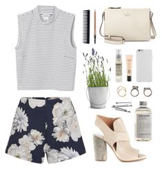 """""""Once upon a different life..."""" by diegolohve ❤ liked on Polyvore featuring Monki, Finders Keepers, Maison Margiela, Kate Spade, Aesop, Potting Shed Creations, Le Labo, Iosselliani, BOBBY and GHD"""