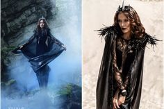 Dark Queen Ravenna Gewandung Set - Snow-White & the Huntsman