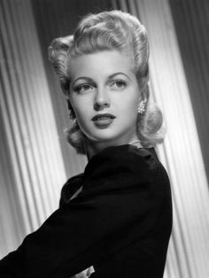 """I shall call this pin: """"Another reason I love my husband"""".  He sees this picture of Lana Turner and says """"I see a lot of you in her. Very similar"""". Envy me, ladies. I have a deluded hubby and I couldn't be happier about it."""