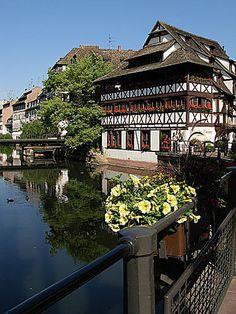 Strasbourg -the little France  by april-mo, via Flickr