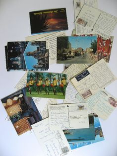 Vintage postcard lot. 26 vintage postcards from around the world. 1959 to 1969…