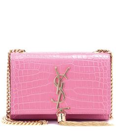 22bbd4ae03f7 SAINT LAURENT Small Kate Monogram Embossed Leather Shoulder Bag.   saintlaurent  bags  shoulder