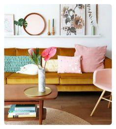 Colour Trend: Blush and Mustard