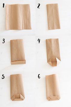 Diy Gift Bags Paper, Small Paper Bags, Paper Bag Crafts, Paper Crafts Origami, Paper Gifts, Paper Bag Wrapping, Craft Packaging, Paper Packaging, Bag Packaging