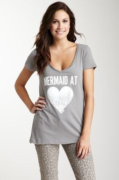 Billabong   Mermaid At Heart Short Sleeve Tee