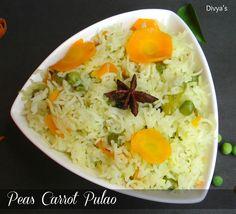 Peas Carrot Pulao