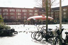 Amsterdam, De Baarsjes mercatorplein