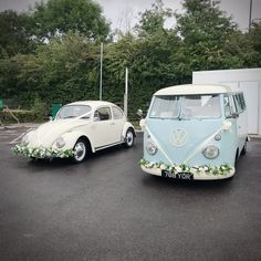 : We have teamed up with Deluxe Wedding Cars today for a Wedding in Worthing Wes. : : We have teamed up with Deluxe Wedding Cars today for a Wedding in Worthing West Sussex ? say hello to Mr Tickle and Grace! Wedding Vans, Wedding Car Hire, Boat Wedding, Dream Wedding, Car Volkswagen, Vw Camper, Volkswagen Beetles, Wedding Car Decorations, Wedding Ideas