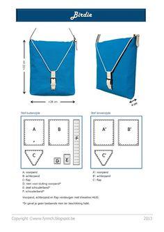 Fynn: Birdie bag: patroon