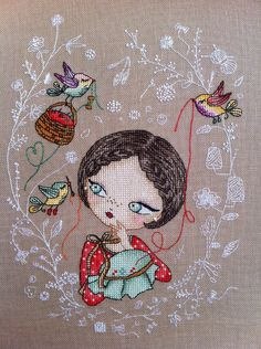 Victoria Ivchenko, my favourite, perfect fabric pick, stitching and detail.