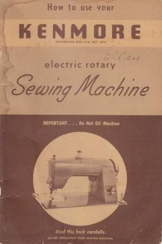 Kenmore Electric Rotary sewing machine instruction and owners manual.  model: 120-491  Here are just a few examples of what's included in this manual:  * Needle and thread table. * Threading machine. * Bobbin winding. * Threading bobbin. * Adjusting tension. * Hints for better stitching. * Parts list. * Hemming, binding, cording. * Attachments. * Much more.  31 page manual.