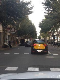 Carrer d'Aribau en Barcelona, Cataluña