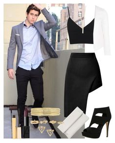 """""""First date with Nash"""" by diirectiioner69 ❤ liked on Polyvore featuring moda, Opening Ceremony, Miss Selfridge, Liz Claiborne, Stila, ALDO, Shashi, Topshop, NARS Cosmetics ve Whistles"""