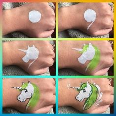 Step by step how to draw a unicorn