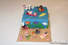 Strand Taart  *Beach Cake