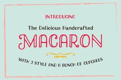 Macaron Handcrafted By Akufadhl on YouWorkForThem.