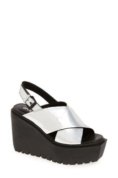 'Luna' Wedge Platform Sandal (Women)