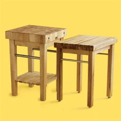If you're shopping for a butcher-block table, we show you what to look for at low and high price points. | Photo: Mark Weiss | thisoldhouse.com