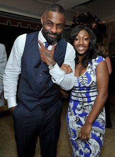 Idris Elba & daughter Isan