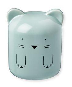 Blue Cat Coin Bank by Bandjo