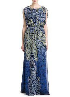 MANGO - CLOTHING - Dresses - Baroque long dress